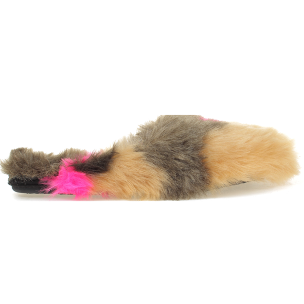 yosi samra multi color fur mule