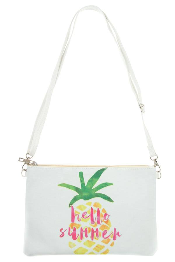 Hello Summer! Pineapple Pouch Bag
