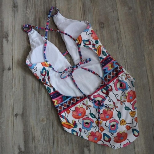Geo & Floral Swimsuit