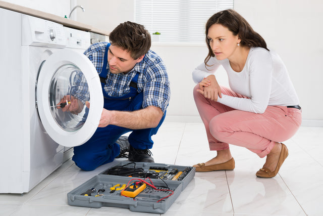 Appliance repair service on washers, dryers, stoves, refrigerators, freezers, microwaves and dishwashers.