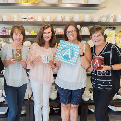 A La Carte Pottery Party - Wisconsin Dells