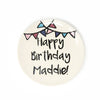 Ceramic Birthday Plate for boy or girl