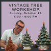 Sunday, October 25 Vintage Tree Workshop @ Polka Dot Pots Wisconsin Dells