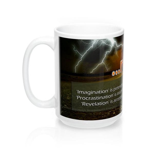 Mugs - ...revelation: 'Imagination' is pretending it did, and it started yesterday...