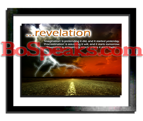 ...revelation (motivational print)