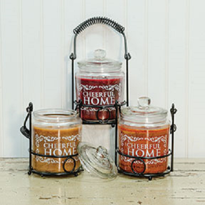 Scented Jar Candle Set