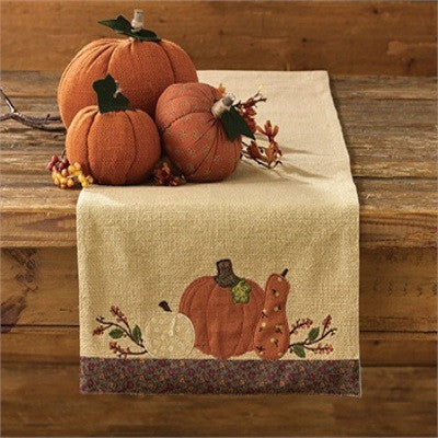 Pumpkin Harvest Table Runner