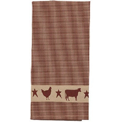 Farm Animals Dish Towel