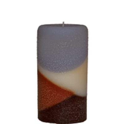 Armadilla Wax Works Aspen Scented 3 x 6 Inch Pillar Candle