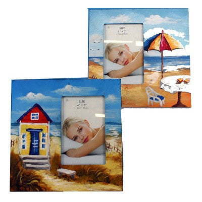 BEACH SCENE PHOTO FRAME