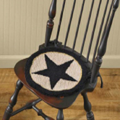 Black Star Farm House Chair Pad
