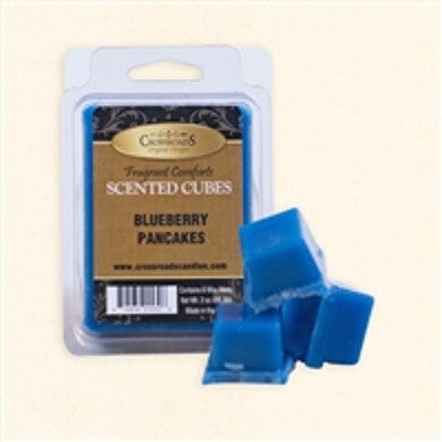 Crossroads Blueberry Pancakes Scented Cubes Wax Melts