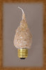 7.5 Watt Standard Base Flicker Bulb by Vickie Jeans Creations ~ Cappucino