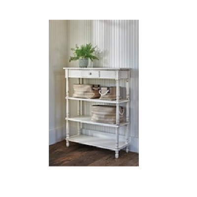 Cream Shelving Unit