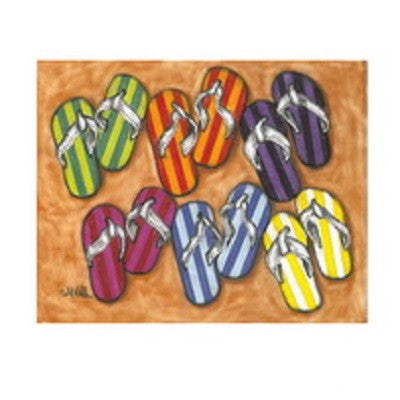 Flip Flop Canvas Art
