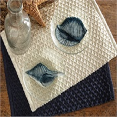 Glass Shell Plate Set