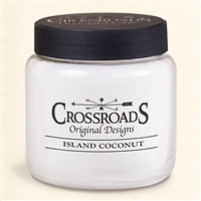 Crossroads Island Coconut 16oz Scented Jar Candles