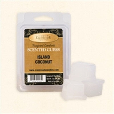 Island Coconut Scented Cubes