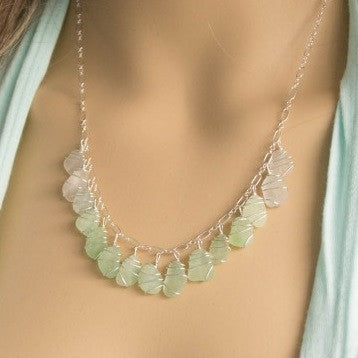 The Jessica ~ Genuine Sea Glass Necklace