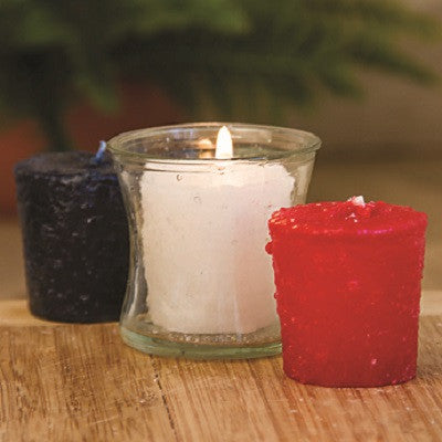 "Warm Glow ""Peace 3 Pack Votive Candles"""