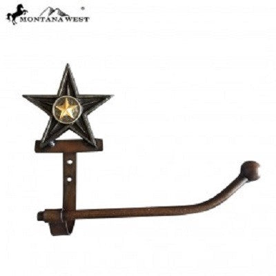 Montana West Western Metal Lonestar Tissue Holder
