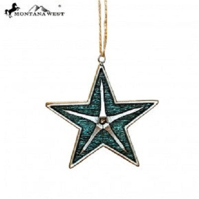 Montana West Star Shape Resin Ornament