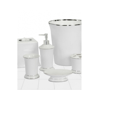 Regency White Bath Accessories