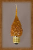 7.5 Watt Standard Base Flicker Bulb by Vickie Jeans Creations ~ Spicy Rosehips
