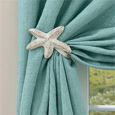 Starfish Curtain Tie Backs ~ Pair