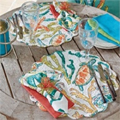 Tidal Pool Round Placemat
