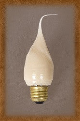 7.5 Watt Standard Base Flicker Bulb by Vickie Jeans Creations ~ Warm