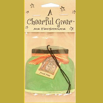 A Cheerful Giver Fresh Pine Scented Air Freshener