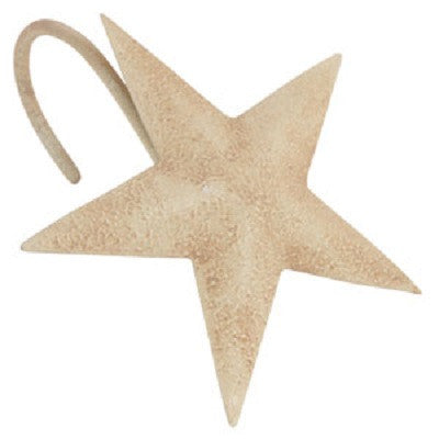 Aged Star Shower Hooks