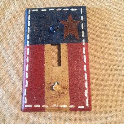 Americana Single Switch Plate