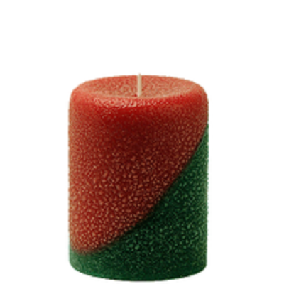 Armadilla Wax Works Christmas Morning 3 x 4 Inch Pillar Candle