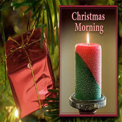 Armadilla Wax Works Christmas Morning 3 x 6 Inch Pillar Candle