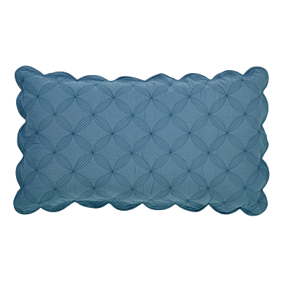 Azure Solid Luxury Pillow Sham