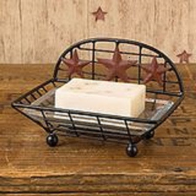 Red Star Soap Dish