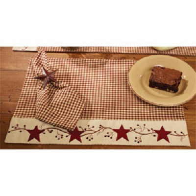 Star & Berry Vine Placemat