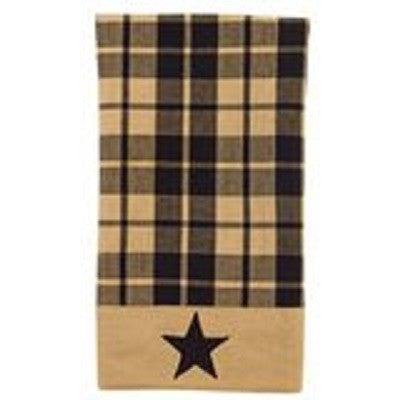 Black Star Farmhouse Towel