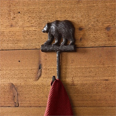 Black Bear Cast Aluminum Hook