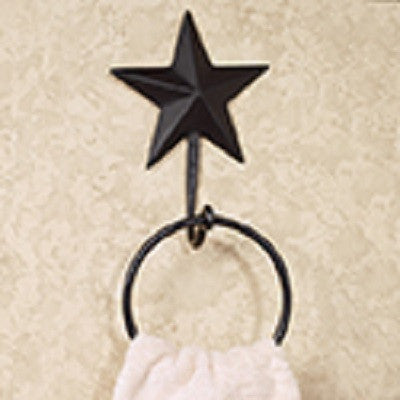 Black Star Towel Holder