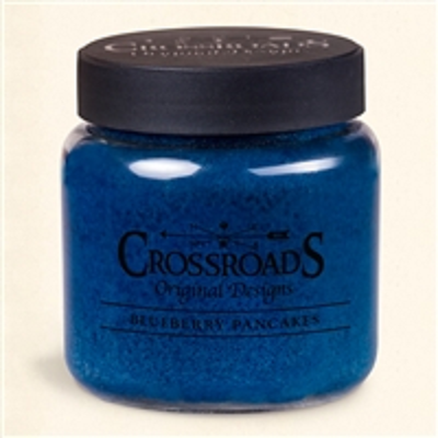 Crossroads 16 Ounce Blueberry Pancakes Scented Jar Candle