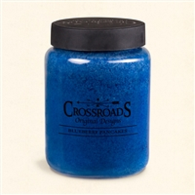 Crossroads 26 Ounce Blueberry Pancakes Scented Jar Candle