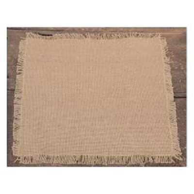 Burlap Table Mat