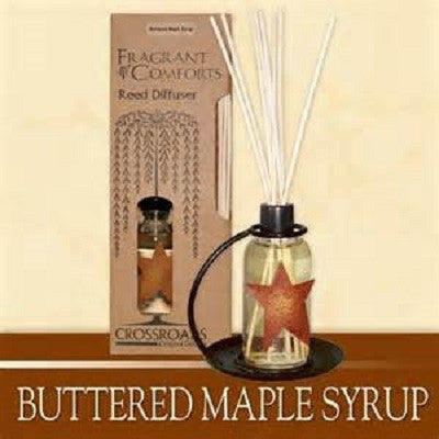 Crossroads Buttered Maple Syrup Reed Diffuser