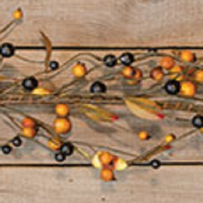 Primitive Candy Corn Garland