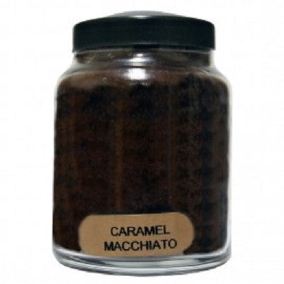 A Cheerful Giver Caramel Macchiato Scented Jar Candles