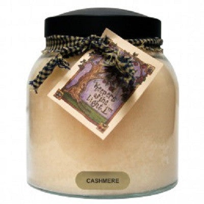 A Cheerful Giver 34 Ounce Papa Jar Candle ~ Cinnamon & Spice Scents