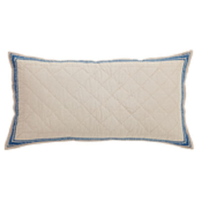 Charlotte Azure Luxury Pillow Sham